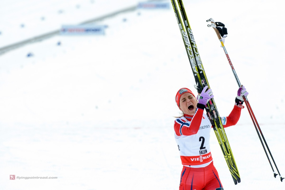"Another Therese Johaug ""moment."""